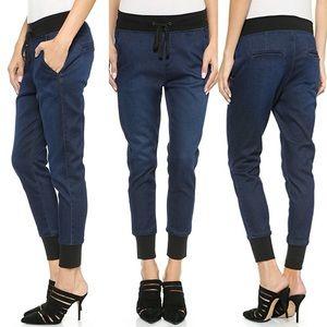 7fam dark indigo  joggers Jeans  30/10